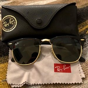 Ray-ban black clubmaster
